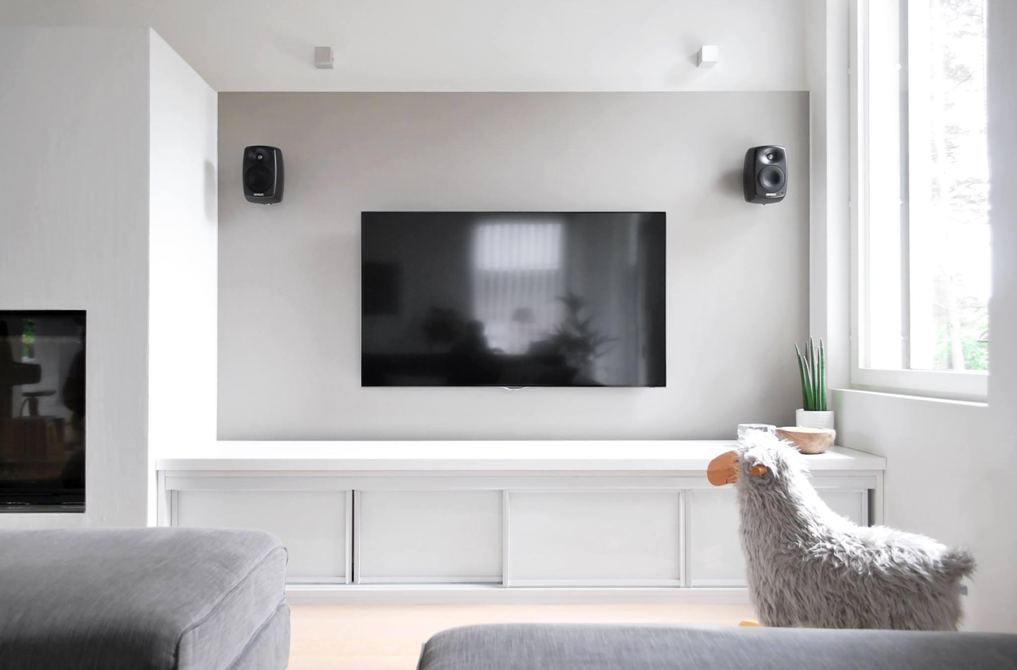 Moderni kivitalo – Tv-taso