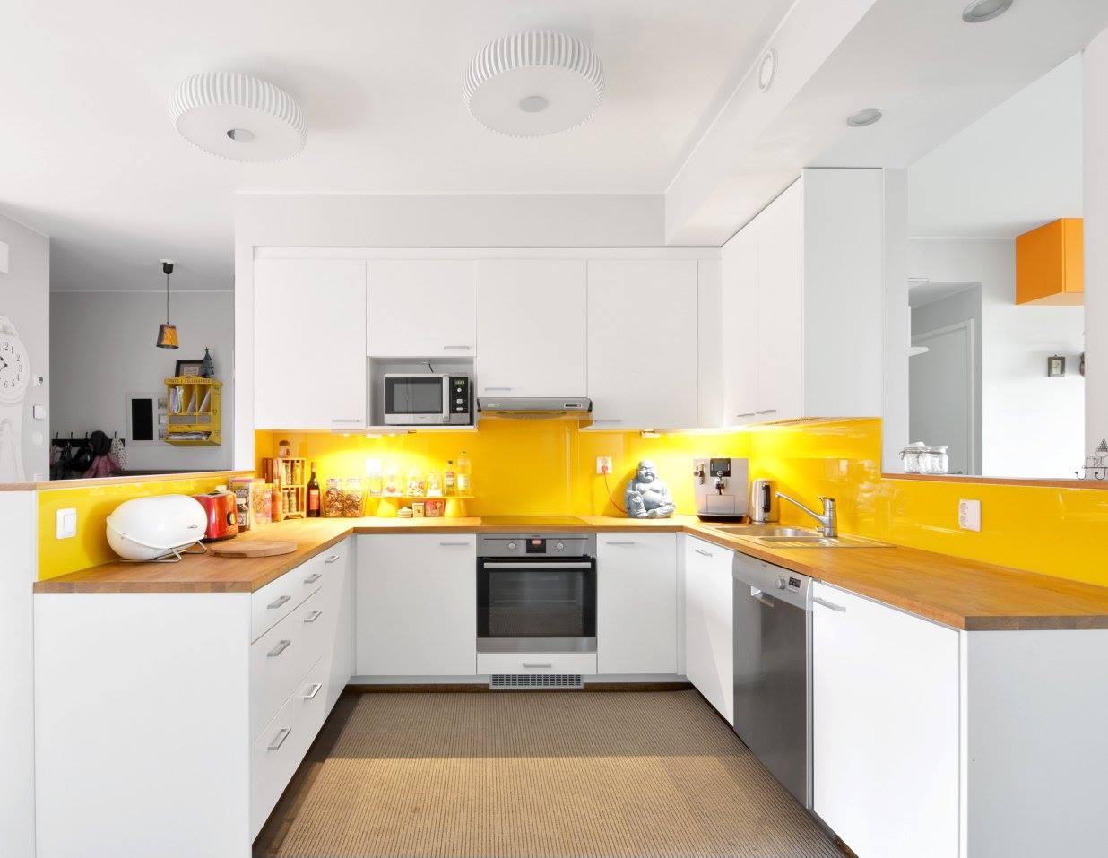Varikasta ja kodikasta Keltainen keittio
