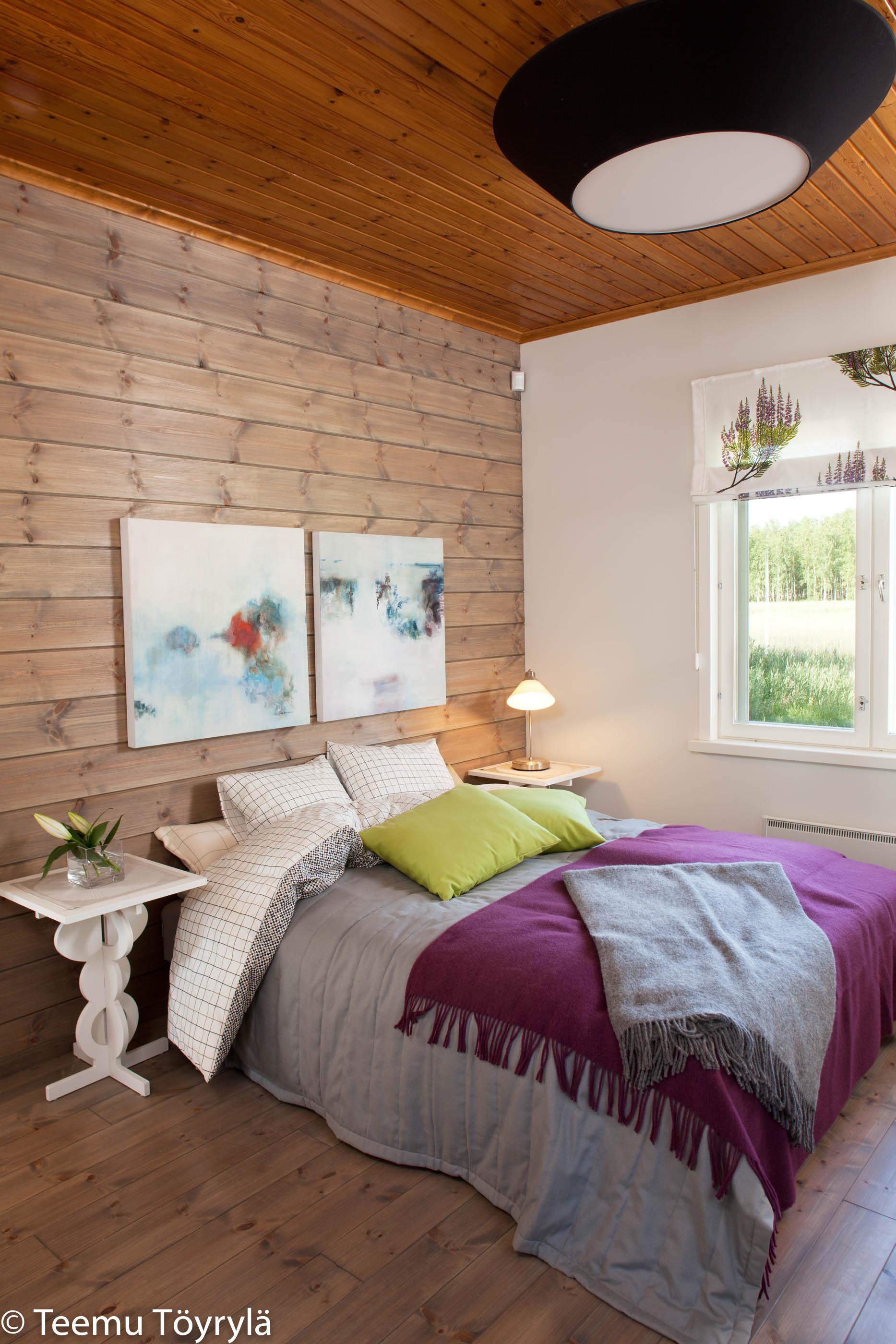 Kyminniemi Uittotupa – makuuhuone