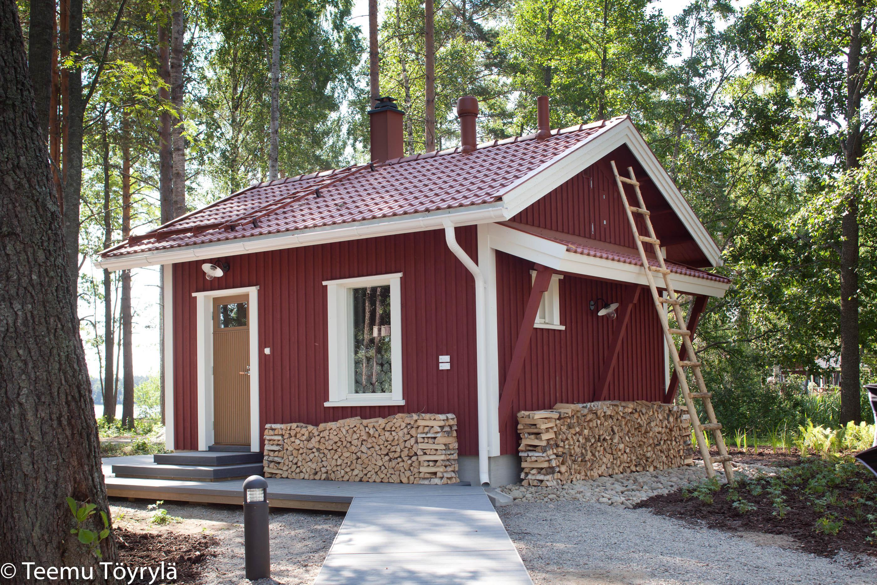 Kyminniemi Uittotupa – saunarakennus