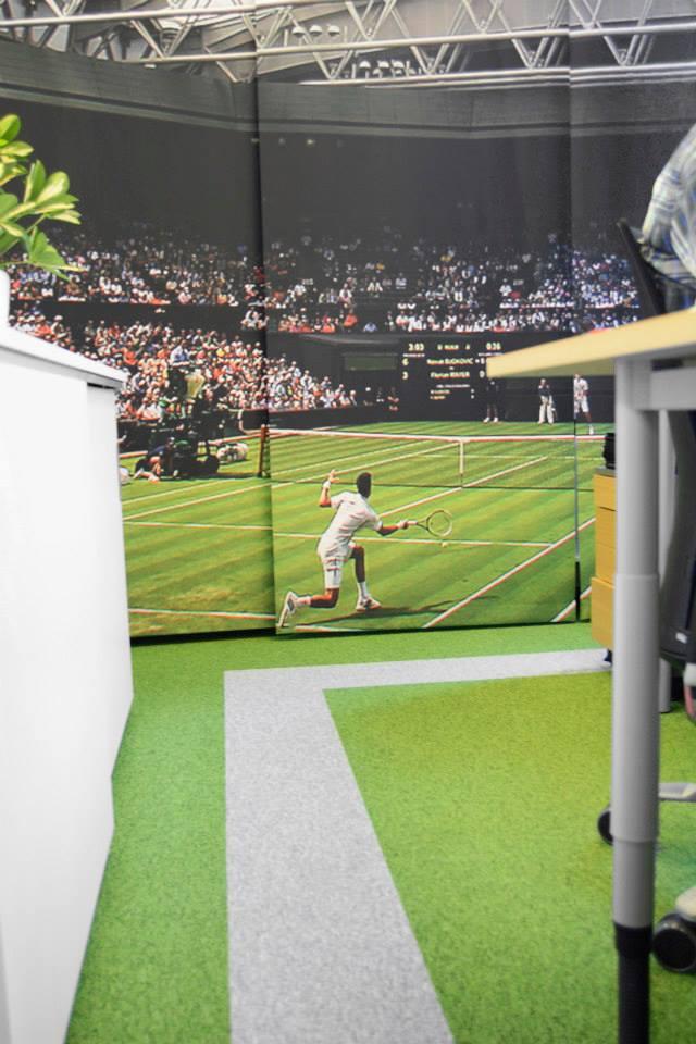 Tenniskentta toimistoon – 3